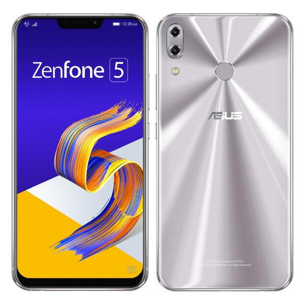 【送料無料】ASUS SIMフリースマートフォン Zenfone 5 スペースシルバー ZE620KL-SL64S6 [ZE620KLSL64S6]