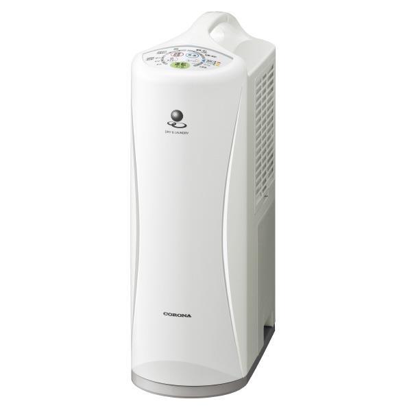 【送料無料】コロナ 衣類乾燥除湿機 ホワイト CD-S6318(W) [CDS6318W]【RNH】