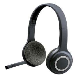 ロジクール ワイヤレスヘッドセット ブラック H600R [H600R]【NATUM】