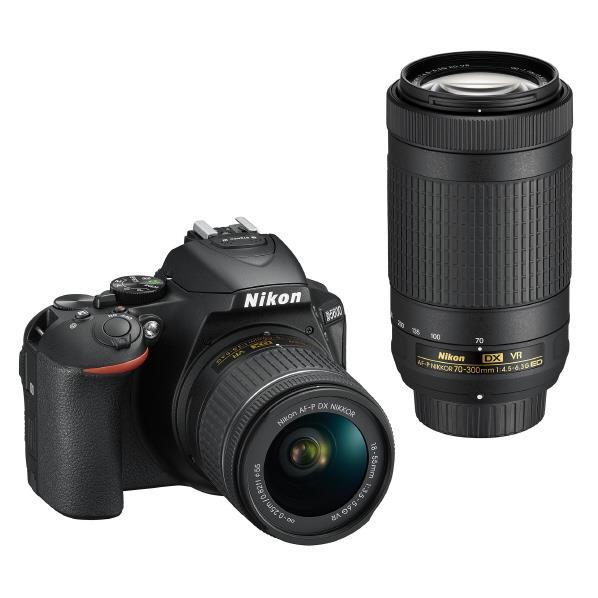 ニコン デジタル一眼レフカメラ・ダブルズームキット D5600 D5600WZ [D5600WZ]【RNH】