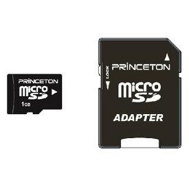 プリンストン microSDメモリーカード(1GB) PMSD-1G [PMSD1G]