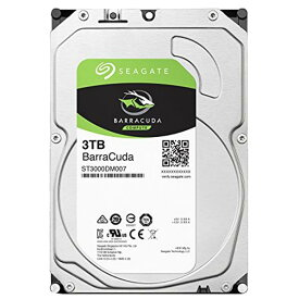 SEAGATE 3.5インチハードディスク(3TB) SEAGATE BarraCudaシリーズ ST3000DM007 [ST3000DM007C]【IMPP】