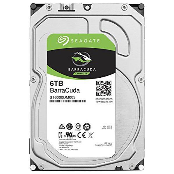 【送料無料】SEAGATE 3.5インチハードディスク(6TB) SEAGATE BarraCudaシリーズ ST6000DM003 [ST6000DM003C]