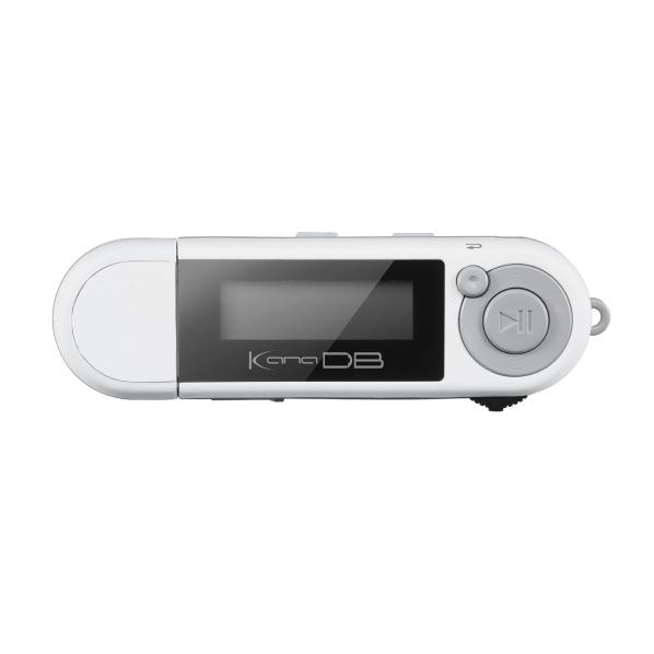グリーンハウス MP3プレーヤー KANA DB(8GB) ホワイト GH-KANADB8-WH [GHKANADB8WH]【RNH】