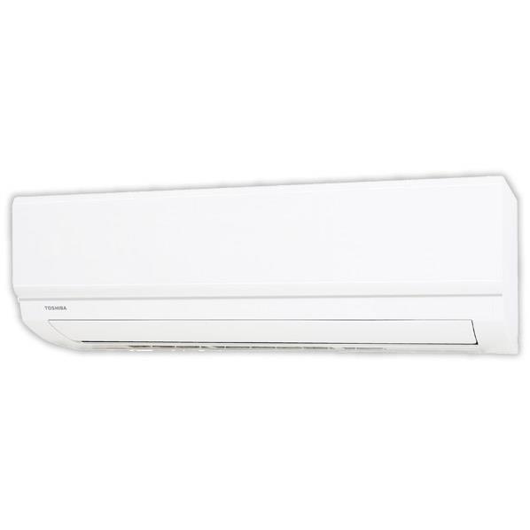 【標準設置工事費込み】東芝 6畳向け 冷暖房インバーターエアコン ホワイト RASE221MWS [RASE221MWS]【RNH】【GONP】
