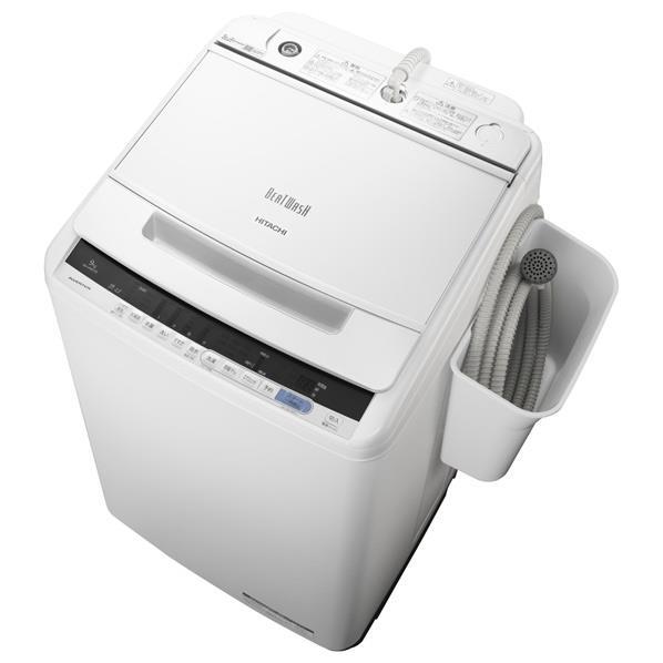 日立 9.0kg全自動洗濯機 オリジナル ビートウォッシュ ホワイト BWV90CE6W [BWV90CE6W]【RNH】