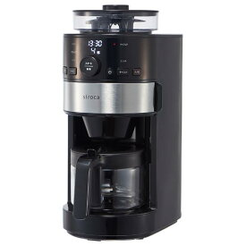 シロカ コーン式全自動コーヒーメーカー SC-C111(K/SS) [SCC111KSS]【RNH】
