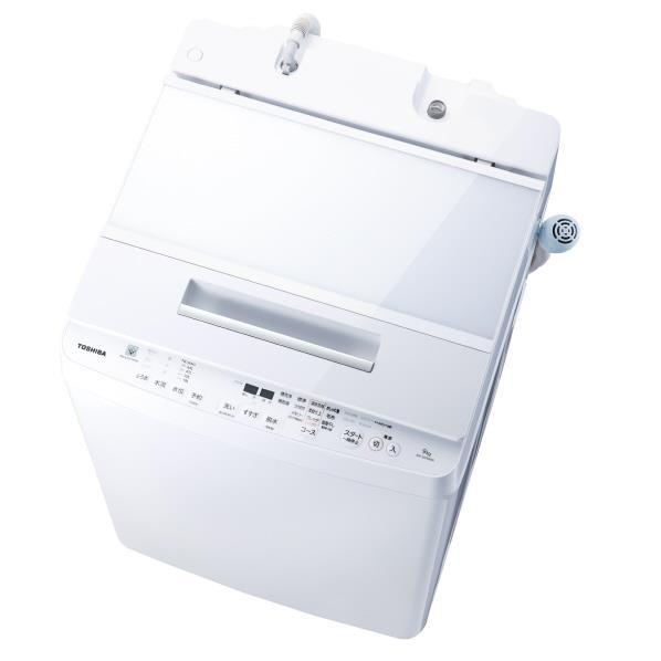 東芝 9.0kg全自動洗濯機 オリジナル グランホワイト AW-9SDE6(W) [AW9SDE6W]【RNH】