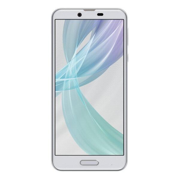 【送料無料】シャープ SIMフリースマートフォン AQUOS sense plus ホワイト SHM07X5W [SHM07X5W]