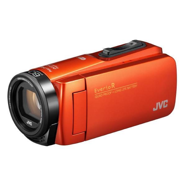 ビクター 64GB内蔵メモリー フルハイビジョンビデオカメラ ブラッドオレンジ GZ-RX680-D [GZRX680D]【RNH】
