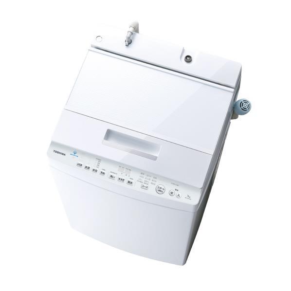 東芝 7.0kg全自動洗濯機 ZABOON グランホワイト AW-7D7(W) [AW7D7W]【RNH】