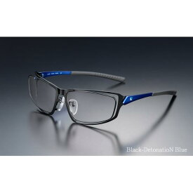 ニデック G-SQUARE アイウェア フルリム[FPS] Professional Model Black-DetonatioN Blue C2FGEG6DBNP5586 [C2FGEG6DBNP5586PRフルBLGY]