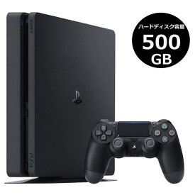 SIE PlayStation 4 ジェット・ブラック 500GB CUH2200AB01 [CUH2200AB01]【RNH】