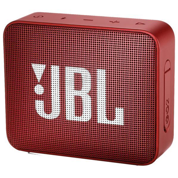 JBL ウォータープルーフ対応Bluetoothスピーカー GO2 レッド JBLGO2RED [JBLGO2RED]【RNH】