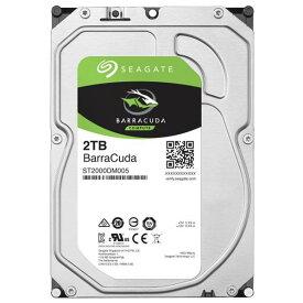 SEAGATE 3.5インチ内蔵ハードディスクドライブ(2TB) BarraCudaシリーズ ST2000DM005 [ST2000DM005C]【MVSP】