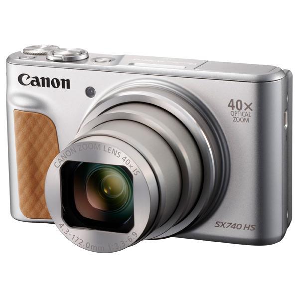 キヤノン デジタルカメラ PowerShot シルバー PSSX740HSSL [PSSX740HSSL]【RNH】