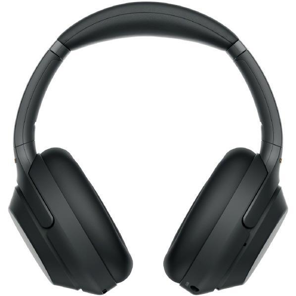 SONY ワイヤレスノイズキャンセリングステレオヘッドセット ブラック WH-1000XM3 B [WH1000XM3B]【RNH】