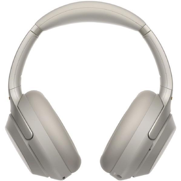SONY ワイヤレスノイズキャンセリングステレオヘッドセット プラチナシルバー WH-1000XM3 S [WH1000XM3S]【RNH】