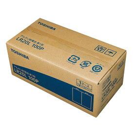 東芝 単1形アルカリ乾電池 100本入り LR20L 100P [LR20L100P]