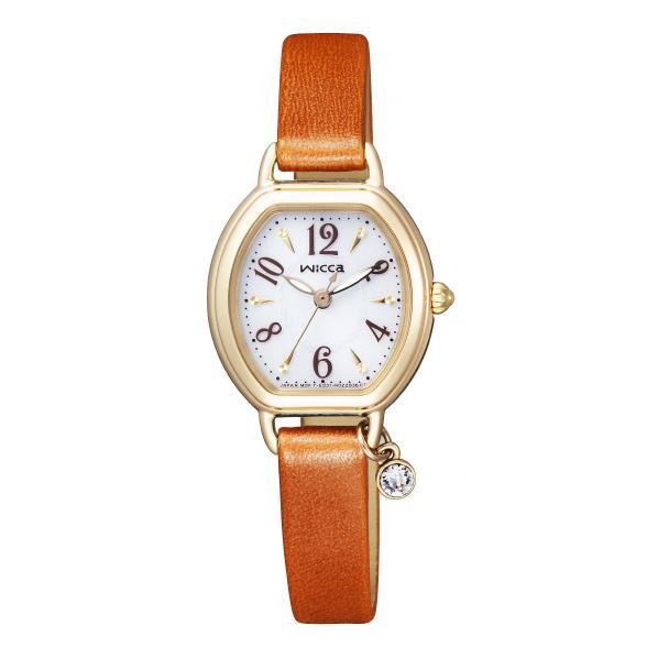 シチズン ソーラーテック腕時計 ウィッカ 白 KP2-523-10 [KP252310]