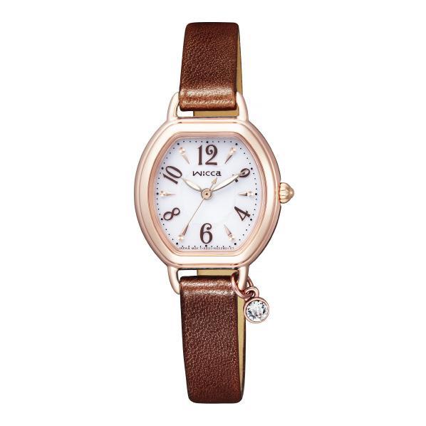 シチズン ソーラーテック腕時計 ウィッカ 白 KP2-566-10 [KP256610]