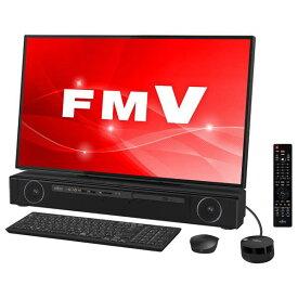 富士通 一体型デスクトップパソコン KuaL ESPRIMO ブラック FMVFXC3BG [FMVFXC3BG]【RNH】