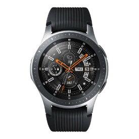 サムスン Galaxy Watch(46mm) シルバー SM-R800NZSAXJP [SMR800NZSAXJP]【KNSP】