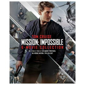 NBCユニバーサル ミッション:インポッシブル 6ムービーブルーレイ・コレクション (初回限定生産/ボーナスブルーレイ付き) 【Blu-ray】 PJXF-1192 [PJXF1192]