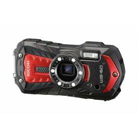 リコー デジタルカメラ レッド WG-60RD [WG60RD]【RNH】