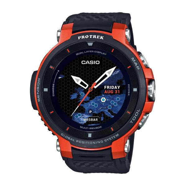 カシオ 腕時計 PRO TREK Smart オレンジ WSD-F30-RG [WSDF30RG]