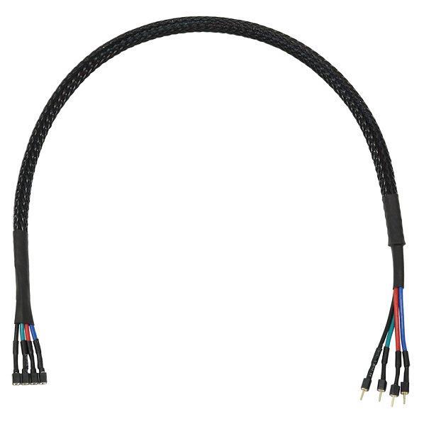 アイネックス RGB LED用ピン配列変換ケーブル(30cm) ブラック RLD-EXB30 [RLDEXB30]