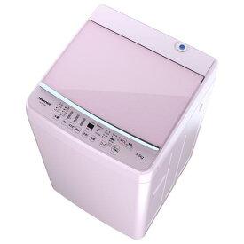 ハイセンス 5.5Kg全自動洗濯機 keyword ピンク HW-G55E5KP [HWG55E5KP]【AUMP】