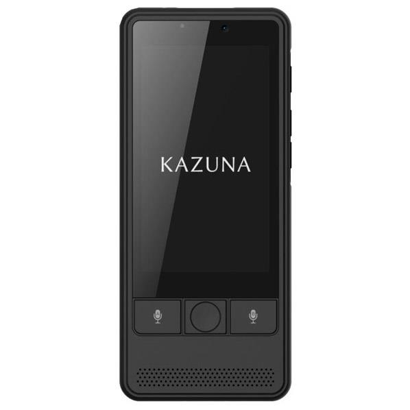 TAKUMI JAPAN 翻訳機 KAZUNA eTalk 5 ブラック TKMT1809B1BK [TKMT1809B1BK]