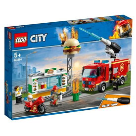レゴジャパン LEGO シティ 60214 ハンバーガーショップの火事 60214ハンハ-゛ガ-シヨツプノカジ [60214ハンハ-゛ガ-シヨツプノカジ]【SPPS】