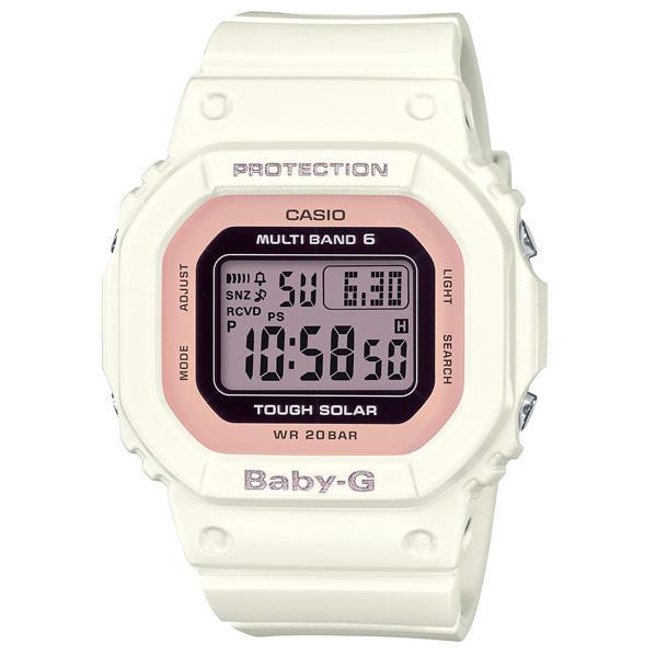 カシオ ソーラー電波腕時計 BABY-G ホワイト BGD-5000-7DJF [BGD50007DJF]