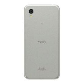シャープ SIMフリースマートフォン AQUOS sense2 ホワイトシルバー SHM08S [SHM08S]