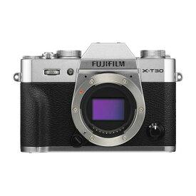 富士フイルム デジタル一眼カメラ・ボディ X Series シルバー FX-T30-S [FXT30S]【RNH】