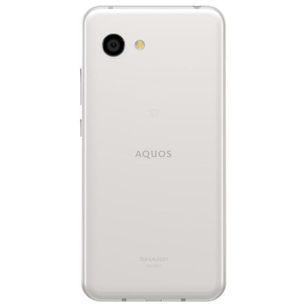 シャープ SIMフリースマホ AQUOS R2 compact ディープホワイト SHM09W [SHM09W]