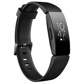 Fitbit フィットネストラッカー Inspire HR Black L/Sサイズ FB413BKBK-FRCJK [FB413BKBKFRCJK]【DWNP】