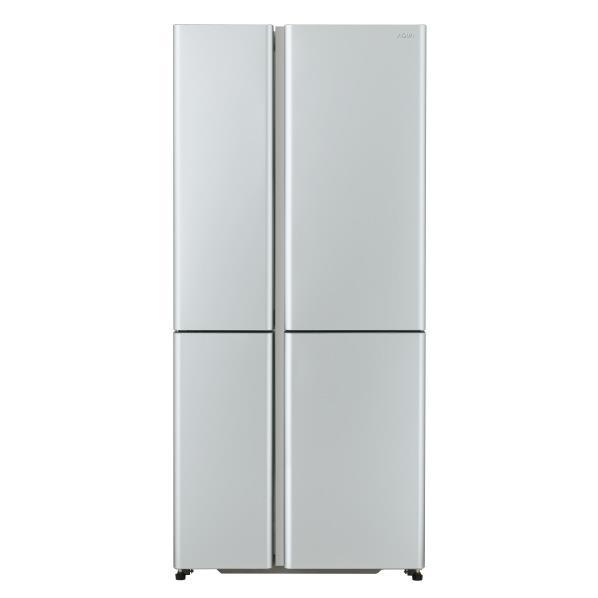 AQUA 512L 4ドアノンフロン冷蔵庫 TZシリーズ サテンシルバー AQR-TZ51H(S) [AQRTZ51HS]【RNH】