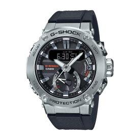 カシオ ソーラー電波腕時計 G-SHOCK G-STEEL シルバー GST-B200-1AJF [GSTB2001AJF]【SPMS】