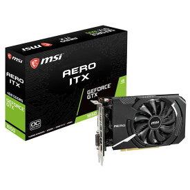MSI グラフィックボード GeForce GTX 1650 AERO ITX 4G OC GTX 1650 AERO ITX 4G OC [GTX1650AEROITX4GOC]【ARPP】