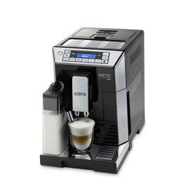 デロンギ 全自動コーヒーマシン エレッタ カプチーノ トップ ブラック ECAM45760B [ECAM45760B]【RNH】