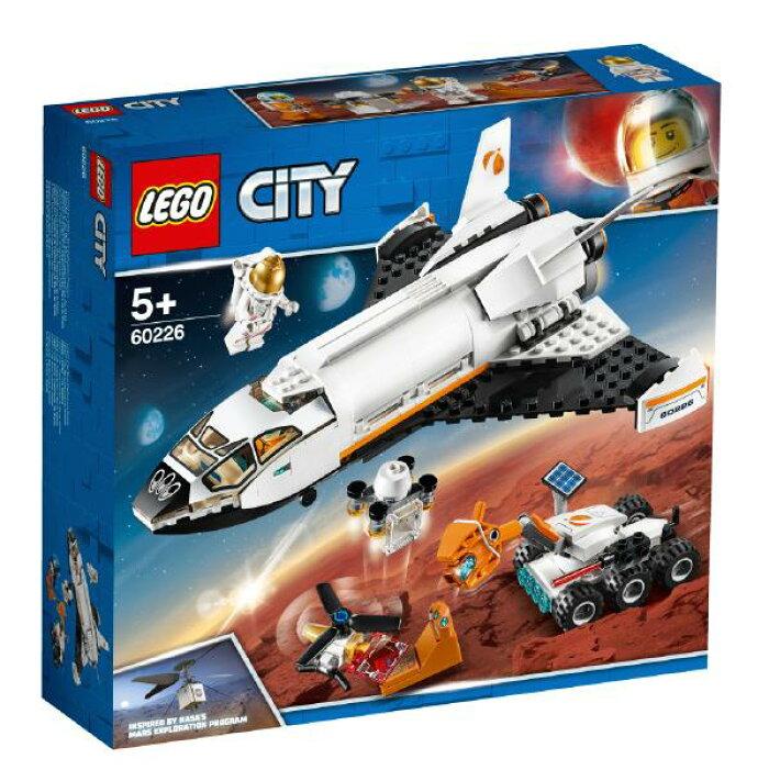 レゴジャパン LEGO シティ 60226 超高速!火星探査シャトル 60226チヨウコウソクカセイタンサシヤトル [60226チヨウコウソクカセイタンサシヤトル]