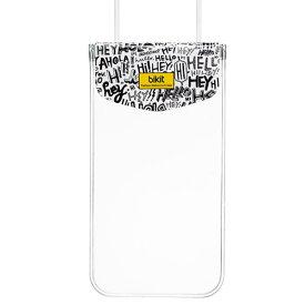bikit スマートフォン用ファッション防水ポーチ レター BK5765 [BK5765]