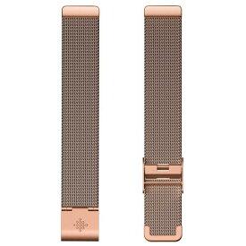 Fitbit Inspire/Inspire HR専用ステンレスメッシュバンド ローズゴールド FB169MMRG [FB169MMRG]
