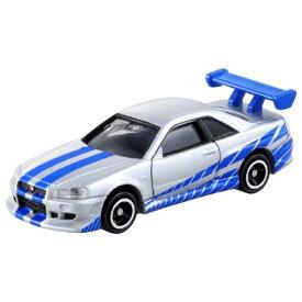 タカラトミー ドリームトミカ No.150 ワイルド・スピード BNR34 スカイライン GT-R Dトミカ150ワイルドスピ-ドスカイLGTR [Dトミカ150ワイルドスピ-ドスカイLGTR]