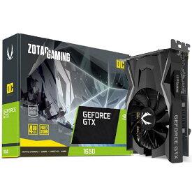 ZOTAC/PCP グラフィックボード ZOTAC GAMING GeForce GTX 1650 OC ZT-T16500F-10L [ZTT16500F10L]【ARPP】