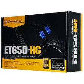 SilverStone 電源ユニット Essentialシリーズ ブラック SST-ET650-HG [SSTET650HG]【NATUM】