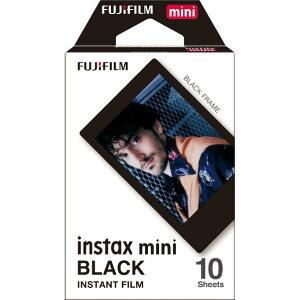 富士フイルム インスタントフィルム instax mini ブラック INSTAXMINIBLACKFRAMEWW1 [INSTAXMINIBLACKFRAMEWW1]